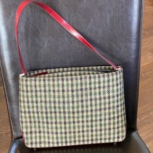 Wool and leather Kate spade purse